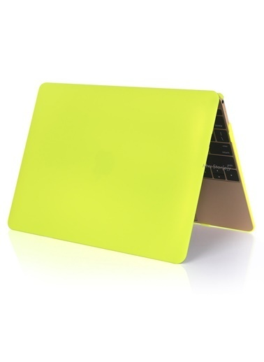 Mcstorey MacBook Pro Retina A1502 A1425 13 inç Kılıf Kapak Koruyucu Hard ıncase Matte Sarı